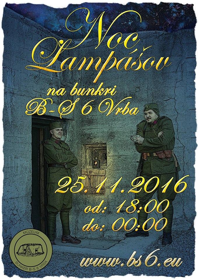 Noc Lampášov 2016 plagát