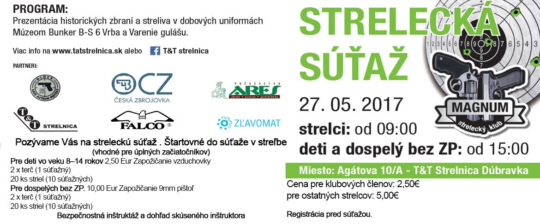 Strelecká súťaž - T&T Strelnica