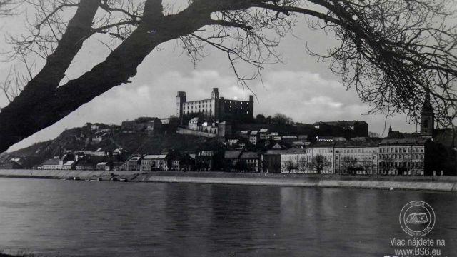 Bratislavský hrad - 1930