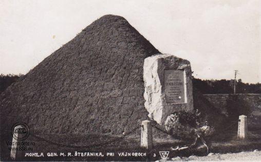 Mohyla M.R.Štefánika - 1930